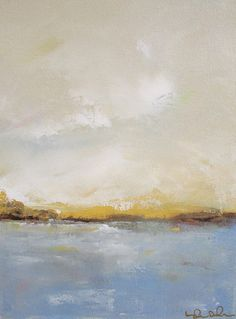 Ocean Seascape Painting Original Art,  Linda Donohue