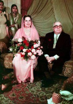 The Aga Khan III with his radiant wife HRH Sir Sultan Muhammad Shah