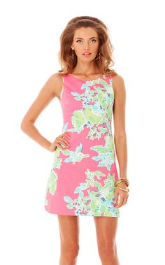 perfect shift dress for summer!