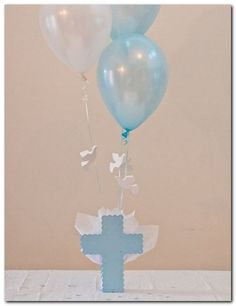 Ideas Baby Boy Baptism Decorations Centerpieces Pink For 2019 Boy Baptism Centerpieces, Baptism Decorations, Girl Baby Shower Decorations, Table Decorations, Baby Boy Baptism, Baptism Party, Baby Girl Birthday, Baptism Ideas, Baby Baby