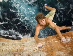 chris sharma, breathtaking rock climbing