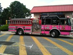 Pink Fire Truck? Yes, please.