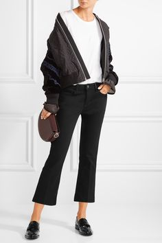 L'Agence   Charlotte cropped mid-rise straight-leg jeans   NET-A-PORTER.COM