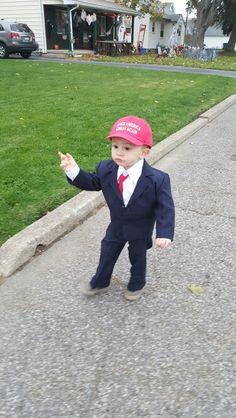 Image result for kid halloween trump