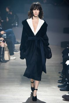 Maiyet - Navy, silks, tweed a relaxed collection dripping in lixury. Thestyleweaver.com Fall 2015 Ready-to-Wear
