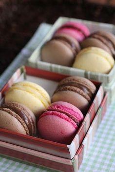 Receita de Macarons