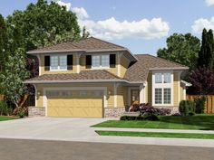 Narrow Lot House Plans   Genevieve Vacation Home Plan 065D-0326   House Plans and More
