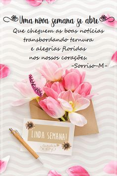 Portuguese Quotes, Good Morning Greetings, Sweetest Day, Night Quotes, Lily, Place Card Holders, Nova, Facebook, Google