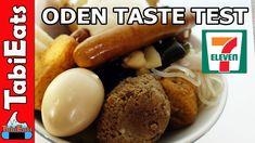 EPIC ODEN TASTE TEST PART 1(Japan's 7-11 Convenience Store Food)