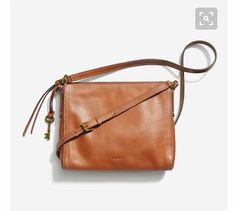 I need a cross-body brown purse like this