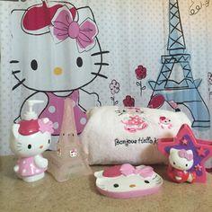 1000 Ideas About Hello Kitty Bathroom On Pinterest