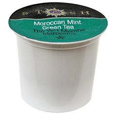 Moroccan Mint Green Single Serve Cup #simplebrewing #moroccanmint #stashtea