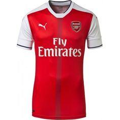 Arsenal 16-17 Hjemmedrakt Kortermet.  http://www.fotballteam.com/arsenal-16-17-hjemmedrakt-kortermet.  #fotballdrakter