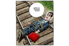 Peter Brookes cartoon for 21.03.13