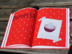 Color, estética, distribution del espacio, tipografía todo da como resultado una unidad y un concepto de infantil. Este estilo se puede convertir en un referente tentador para soluciones futuras.-Self Initiated Project - Little Fingers Cooking Book on Behance