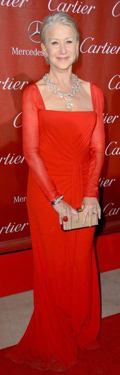 Dame Helen Mirren in ESCADA at 24th Annual Palm Springs International Film Festival Awards Gala 2013
