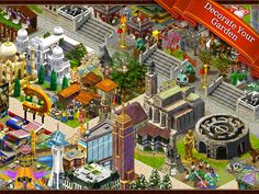 iPad/iPhone - Hidden Objects: Gardens of Time. Find hidden objects in beautiful backdrops to earn points and build your secret garden.