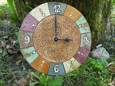 Hodiny Barevné Pottery Ideas, Clocks, Clay, Inspiration, Home Decor, Art, Pendulum Clock, Deko, Kunst
