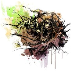 #Scarecrow Print /// by Vincent Vernacatola