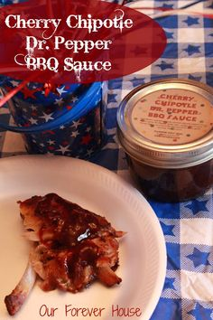 Cherry Chipotle Dr. Pepper BBQ Sauce