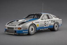 Porsche 924 Carrera GTR 1982 Le Mans   1:18 Scale Model Car by TSM   Front Quarter