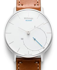Activity tracker that does not look as one... Swiss watch from Withings.