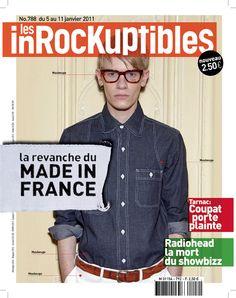 projet couv numero mode Les Inrockuptibles