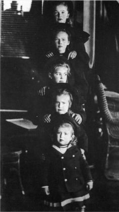 My four sisters and me from a long ago time.