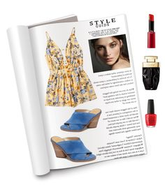 """""""Saturday article"""" by obretin-raluca on Polyvore featuring Marc Fisher LTD, Burberry, Giorgio Armani and OPI"""