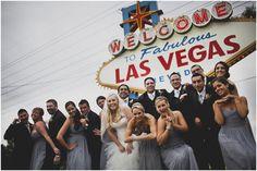 just married in Las Vegas