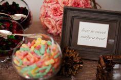 Message for wedding buffet