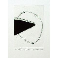 Kingsley Parker - Worlds Collide Detail, Artist, Prints, Artists