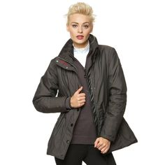 A beautiful hip length jacket that features an adjustable waist string for the perfect fit. The Gersemi Hanna Ladies Waterproof Jacket is breathable and windproof, protecting you from the elements this season. Beautiful Hips, Graphite, Perfect Fit, Raincoat, Casual Outfits, Winter Jackets, Lady, How To Wear, Autumn