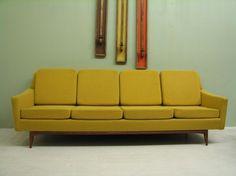 Mid-century Danish modern couch.