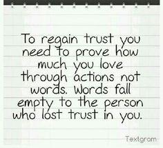 how to build broken trust