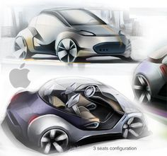 iMove Electric Car Gives The Touch Of Apple Into Future Transportation