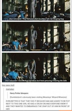 Which is why the Harry Potter fandom is so completely incredible! :)
