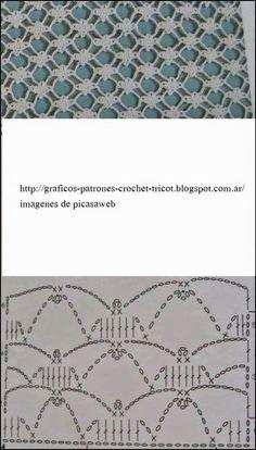 PATRONES - CROCHET - GANCHILLO - GRAFICOS: