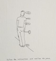 erwin wurm drawings - Google Search