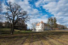 Immobilier Romand: La menace des taux. Résidences château d'Allaman. © François Wavre/Rezo
