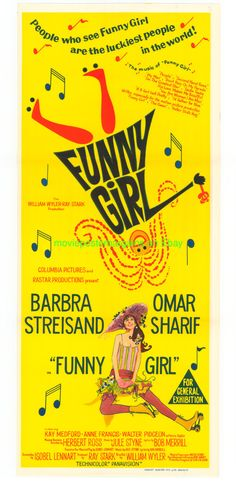 FUNNY GIRL MOVIE POS