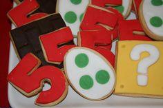 cookies for super mario bros party Super Mario Birthday, Mario Birthday Party, 5th Birthday Party Ideas, Party Themes, Birthday Parties, 4th Birthday, Super Mario 5, Super Mario Party, Mario And Luigi