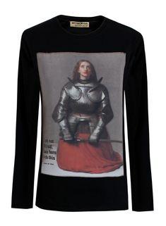 'Women Warriors' Joan of Arc Ladies Long-Sleeved T-Shirt - British Retro Retro Outfits, Vintage Outfits, Vintage Clothing Online, Joan Of Arc, French Army, British, Pure Products, Lady, Sweatshirts