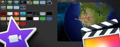 We have often looked at the animated globe maps in iMovie and wished they could have been included in FCPX....