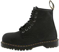 Doc Martens Dr. Martens Icon 7B10 Extra-Wide Fit Steel Toe Black Men Shoes R13398001