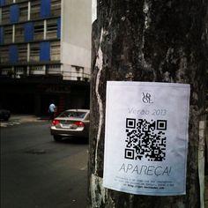 |Virgílio Couture| Marketing de guerrilha em São Paulo.