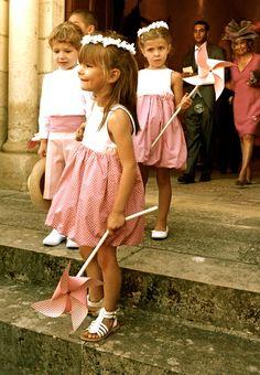 maudjesstyling: white and coral lovely Ibiza Wedding, Dream Wedding, Flower Girl Tutu, Flower Girl Dresses, Flower Girls, Fairy Lights Wedding, Pretty Kids, Bridesmaid Outfit, Page Boy