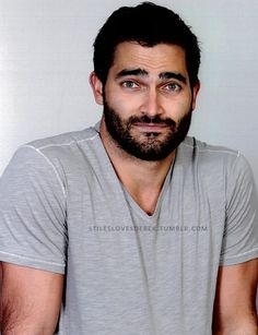 Tyler Hoechlin is sorry if his ridiculous handsomeness make your standard about men tragically unrealistic and unattainable. I can't decide if I want more punch him in the face or more perform obscene and unmentionable acts to him.