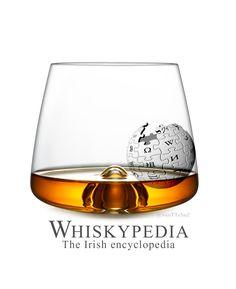 #Whisky #Wiki #Wikipedia #Alcool #affiche Détournement