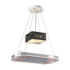 ELK Lighting 5138 Two Light Hockey Rink Down Lighting Pendant from the Novelty Collection